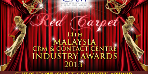14th Malaysia CRM & Contact Centre Industry Awards Gala Dinner 2013