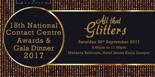 18th Malaysian Contact Centre Awards & Gala Dinner 2017