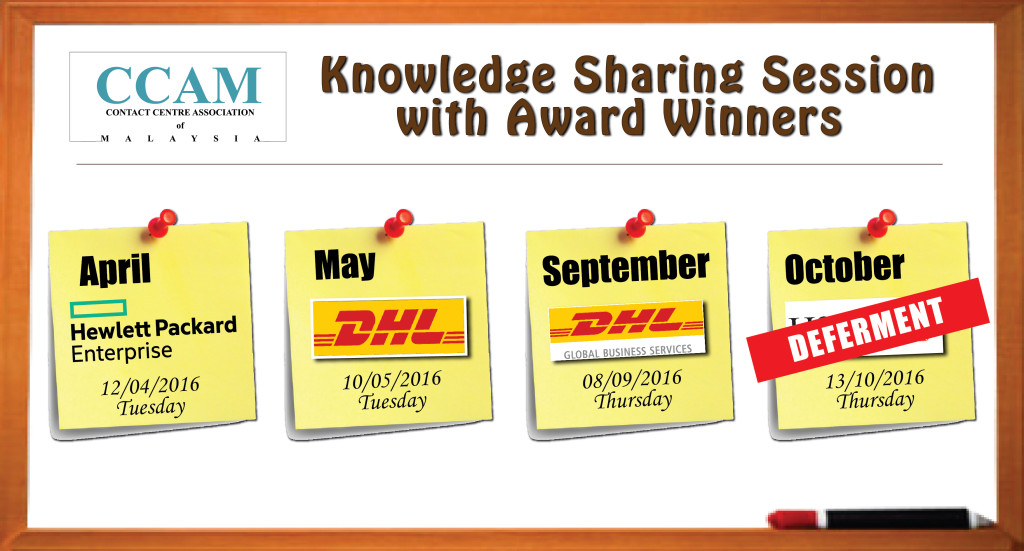 Knowledge Sharing Session With Award Winners