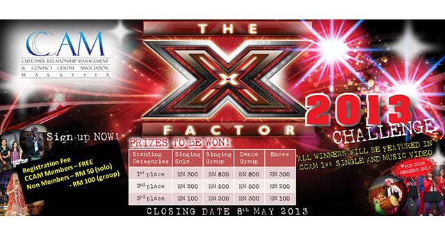 CCAM X-Factor Challenge