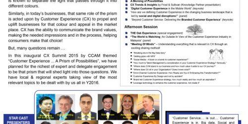 Customer Experience Summit 2015 (CX)