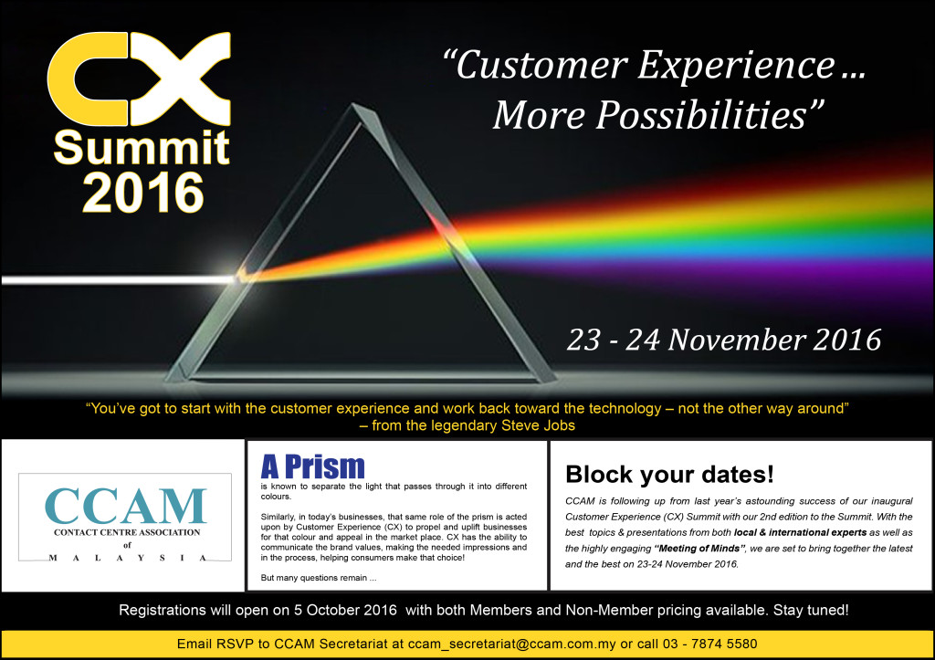 Customer Experience Summit 2016 (CX)