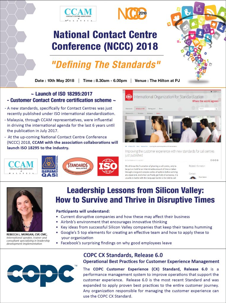 National Contact Centre Conference Nccc 2018 Ccam Contact