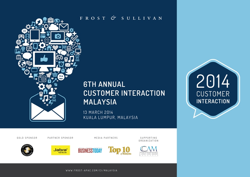 Frost & Sullivan – 6th Annual Customer Interaction Malaysia