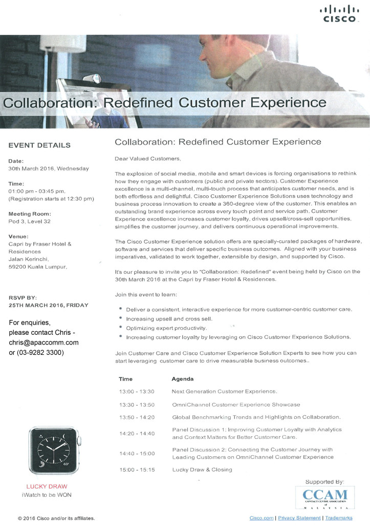 Collaboration : Redefined Customer Experience Workshop