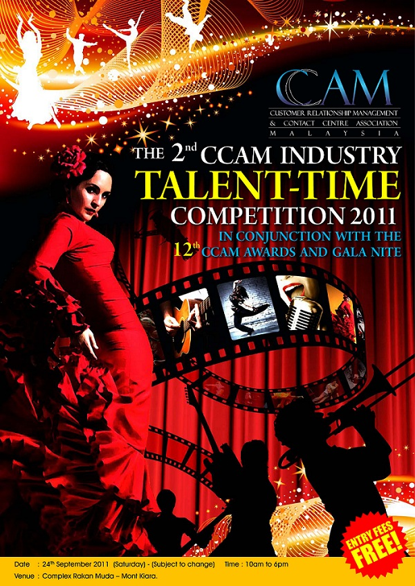 The 2nd CCAM Industry Talent-Time Competition 2011