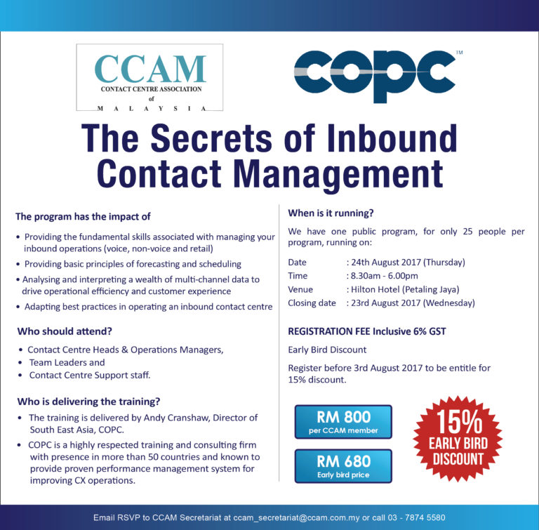 The Secrets Of Inbound Contact Management