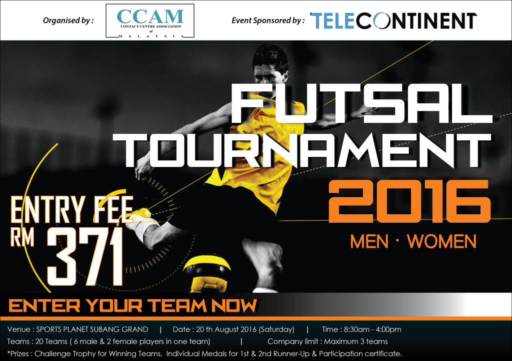 CCAM Futsal Tournament 2016