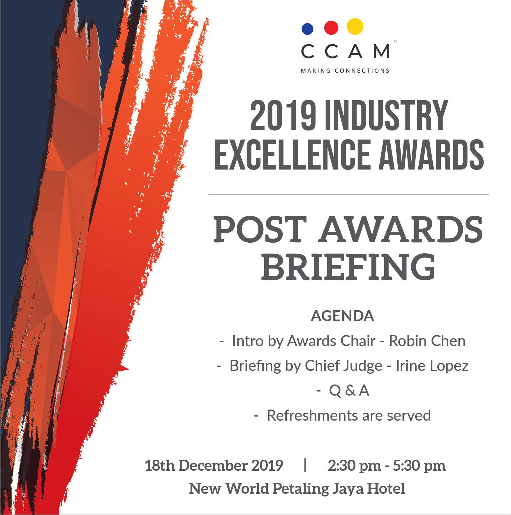 Post Awards Briefing 2019