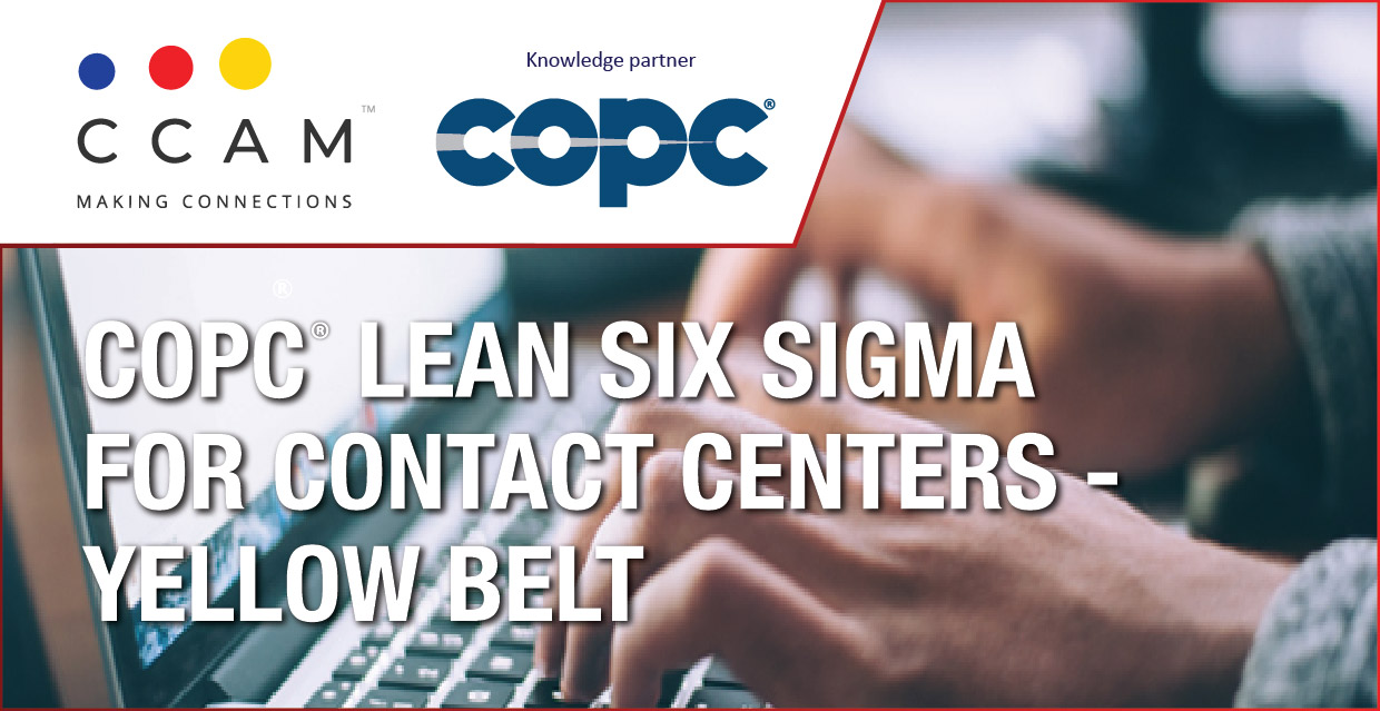COPC LEAN SIX SIGMA FOR CONTACT CENTERS – YELLOW BELT