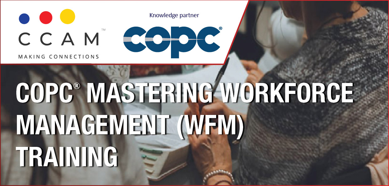 COPC MASTERING WORKFORCE MANAGEMENT (WFM)