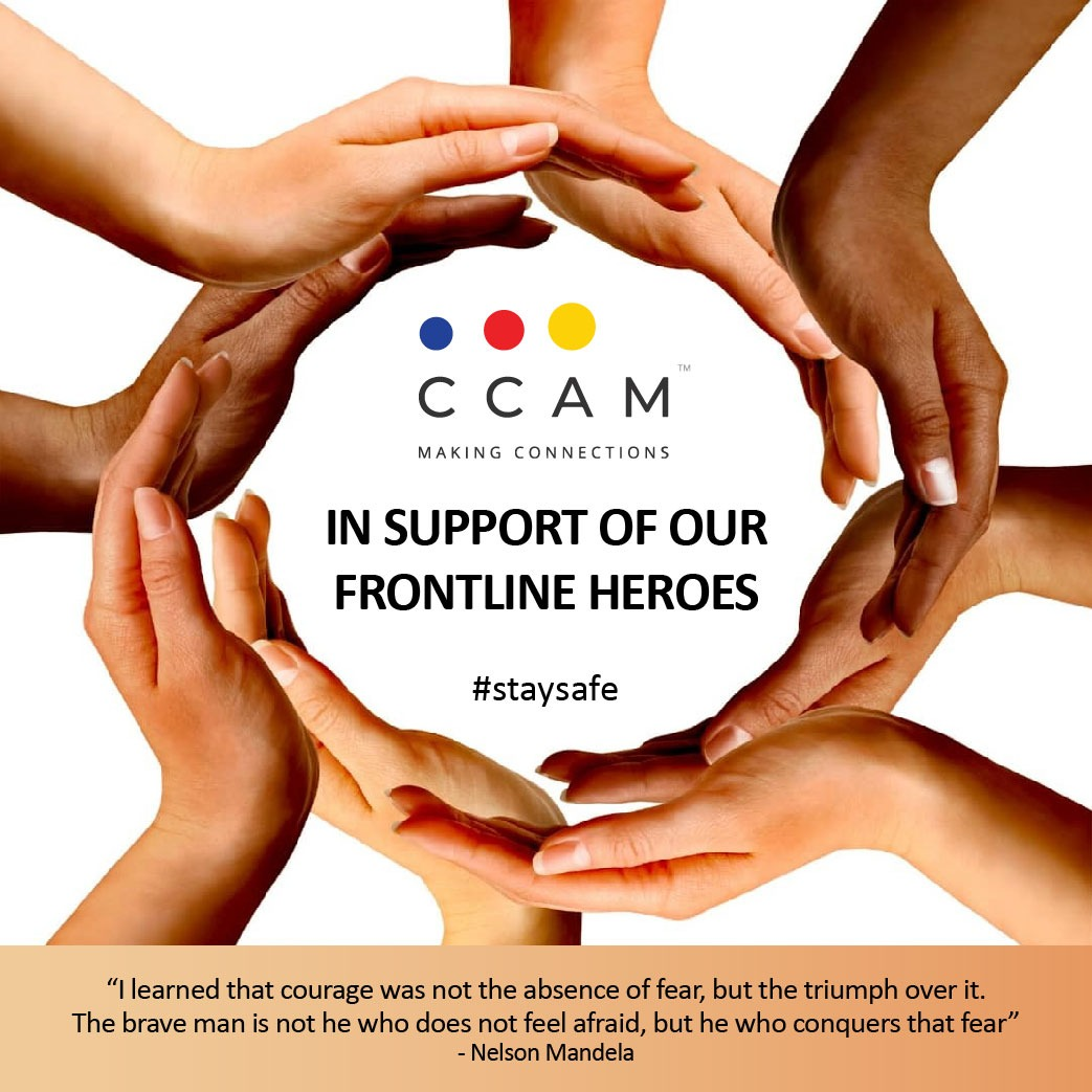 CCAM Support Our Frontline Heroes