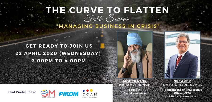 The Curve To Flatten Talk Series 3 – Managing Business In Crisis