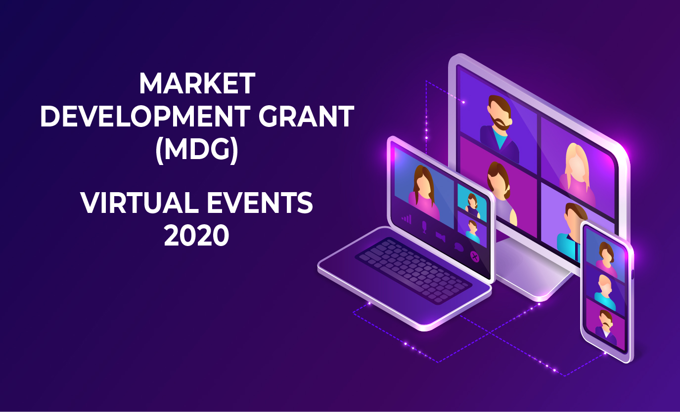 Market Development Grant (MCG) – Virtual Events 2020